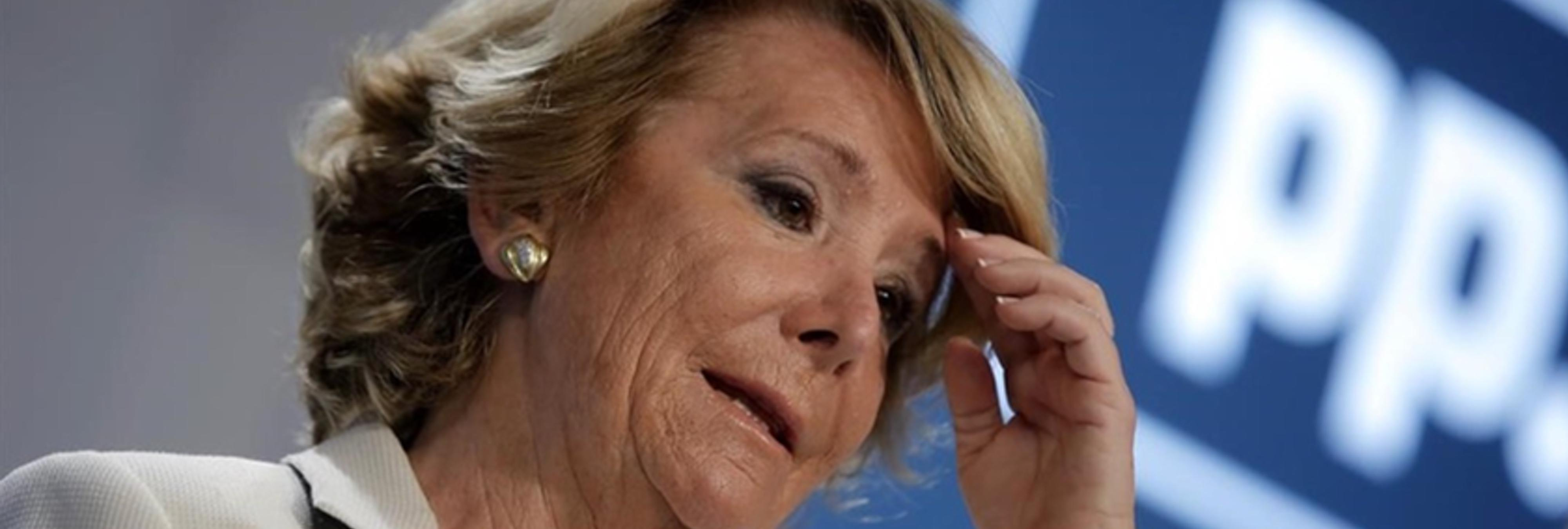 La Guardia Civil investiga un viaje de Esperanza Aguirre a Suiza con la mujer de González