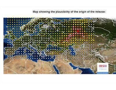 La gran nube radioactiva que recorre Europa ya cubre toda España