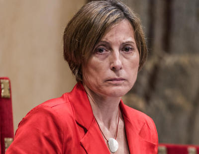 Carme Forcadell vuelve como presidenta del Parlament tras su paso por la cárcel
