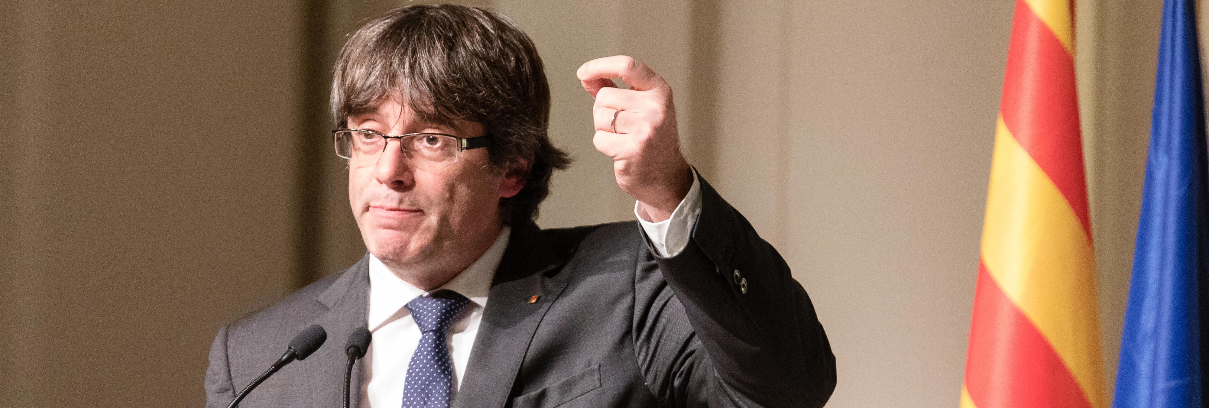 """Puigdemont dice ahora que """"otra solución que no sea la independencia es posible"""""""