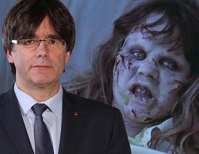 'Informe Semanal' adorna las declaraciones de Puigdemont con la música de 'El Exorcista'