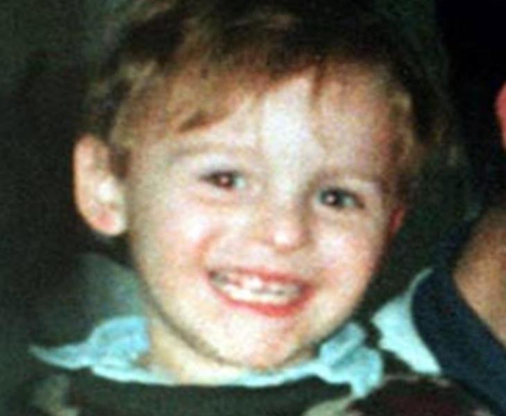 James Bulger desapareció cuando visitó un centro comercial con su madre
