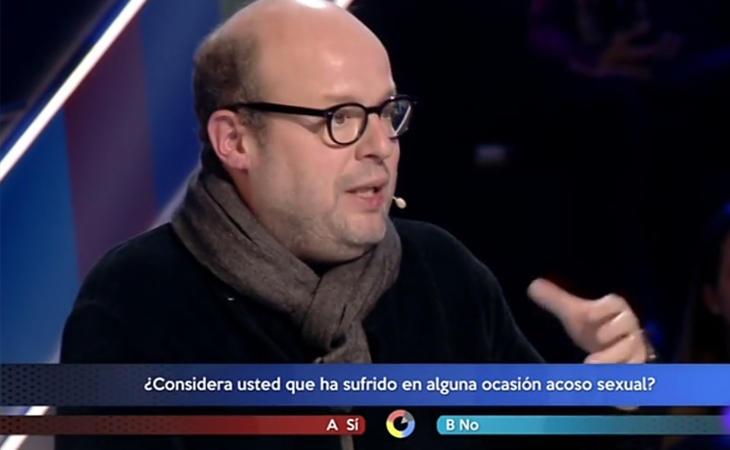 Salvador Sostres durante su participaciónen '¿Cómo lo ves'? de TVE.