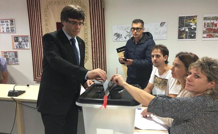 Puigdemont repetirá en las elecciones del 21-D