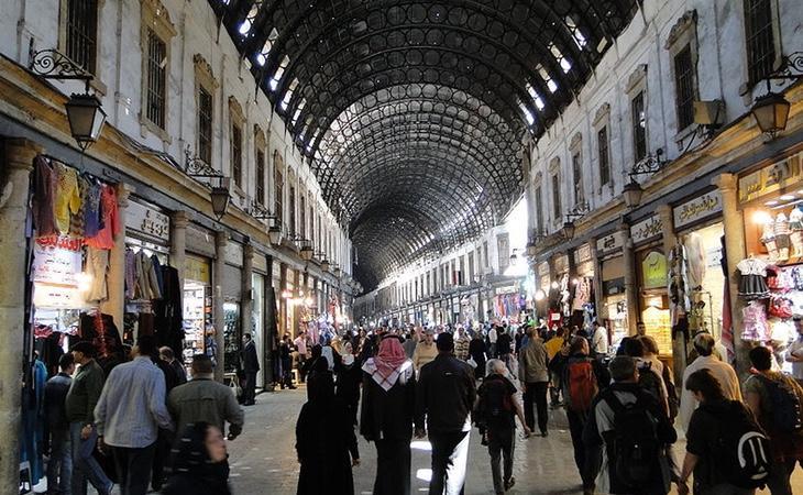 El zoco de Damasco es uno de los principales encantos de la capital siria