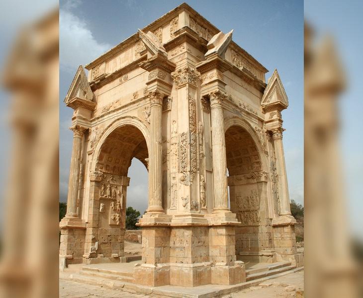 La ciudad de Leptis Magna cuenta con un estado de conservación envidiable