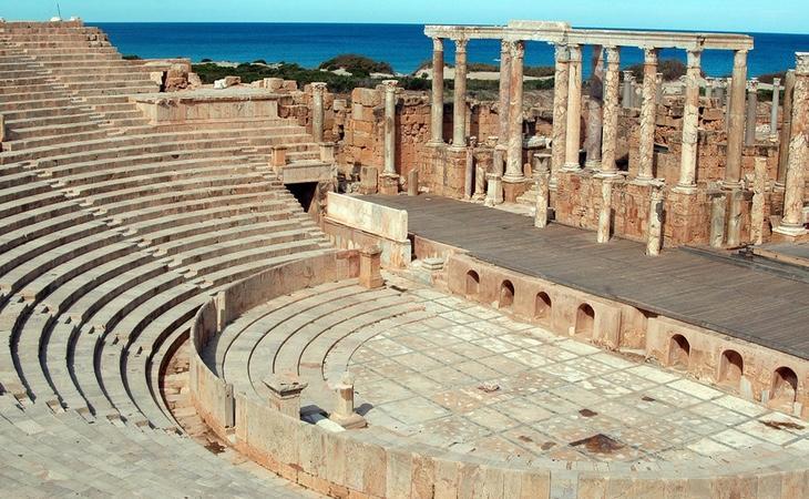 El teatro es uno de los atractivos turísticos de este conjunto