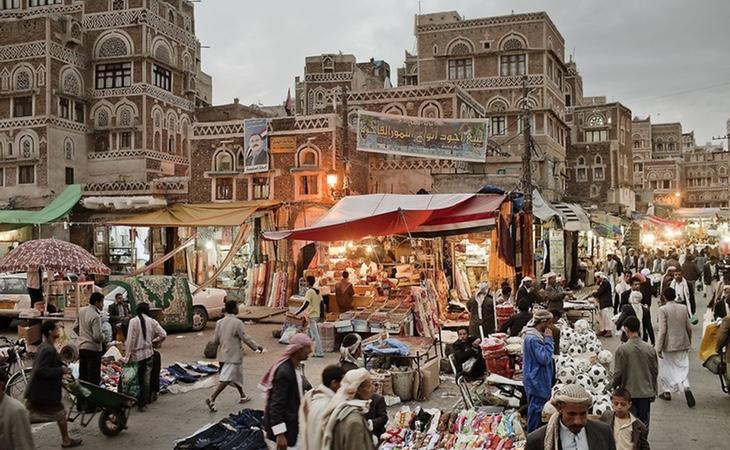 Su característica arquitectura y su vida en la calle otorgan a Saná un fuerte y atractivo exotismo