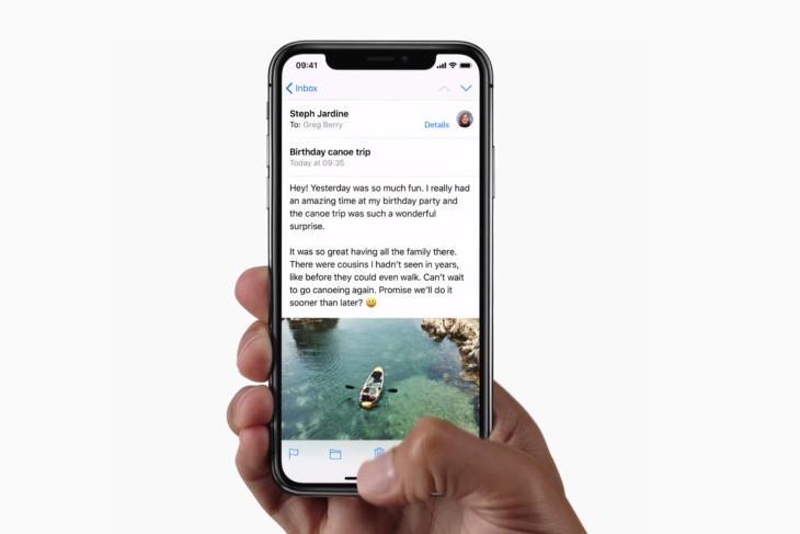 La pantalla del iPhone X está dando problemas