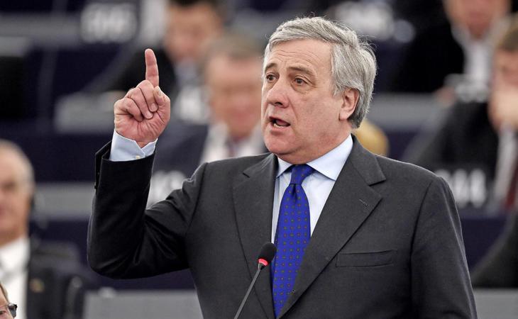 El presidente del Parlamento Europeo, Antonio Tajani, rechazó contundentemente las declaraciones del eurodiputado neonazi
