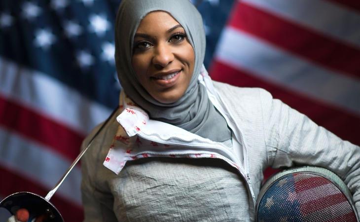 Muhammad ha aprovechado la visibilidad que le dio el uso del velo por primera vez en los Juegos para luchar contra la discriminación de las minorías