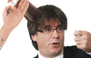 Puigdemont estrena nuevo corte de pelo y las redes enloquecen