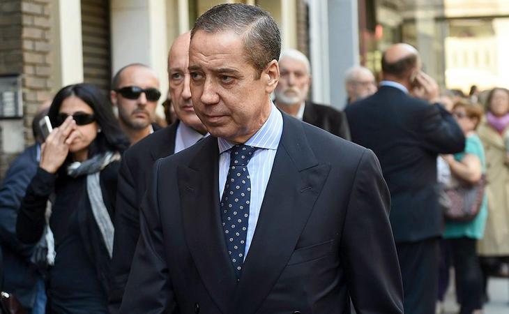 El exministro y expresidente valenciano, Eduardo Zaplana, aseguraba que Aguirre solo traía problemas