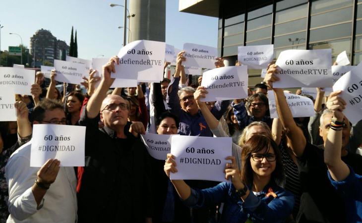 Los trabajadores de RTVE han denunciado en múltiples ocasiones los casos de manipulación del ente público