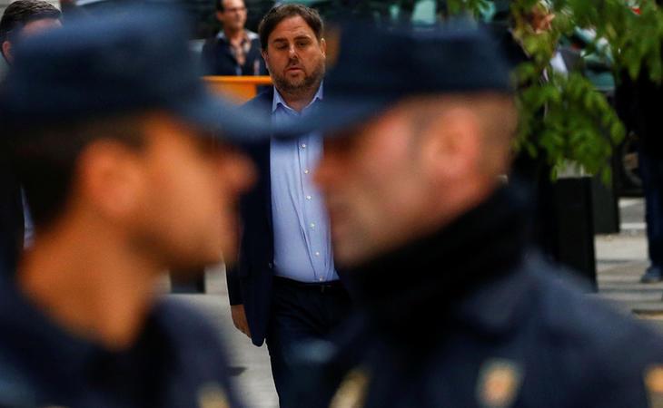 El abogado de Junqueras y los exconsellers denuncia supuestos malos tratos de los agentes durante el traslado de estos a la prisión