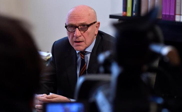 Paul Bekaert, abogado de Puigdemont