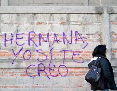 """""""Hermana, yo sí te creo"""", el texto de apoyo a la víctima de 'La Manada'"""
