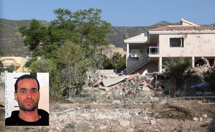 La casa de Alcanar donde se produjo la explosión que acabó con la vida del imán de Ripoll