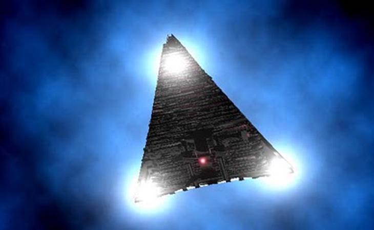 Las naves triangulares le permitían viajar por todo el Espacio