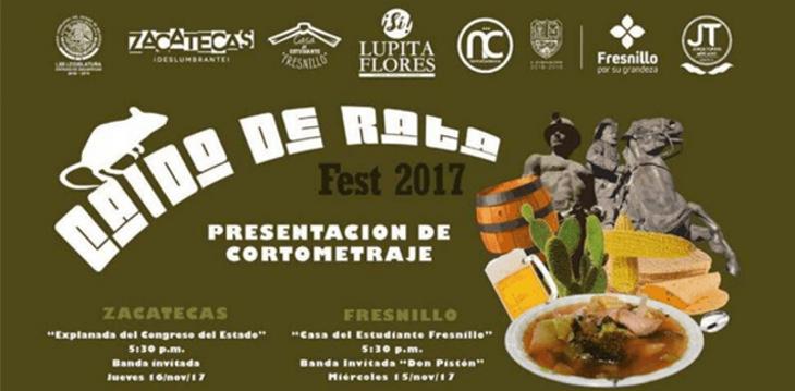 Cartel del 'Caldo de Rata Fest 2017'