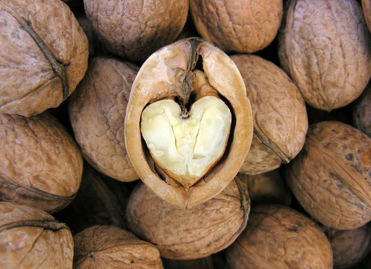 Las nueces son un alimento muy sano y muy recomendable para incorporar a la dieta diaria
