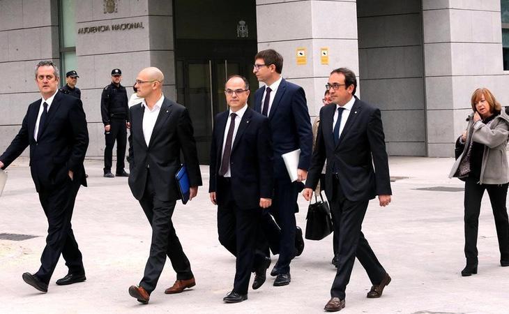 El fiscal pidió cárcel para los exconsellers