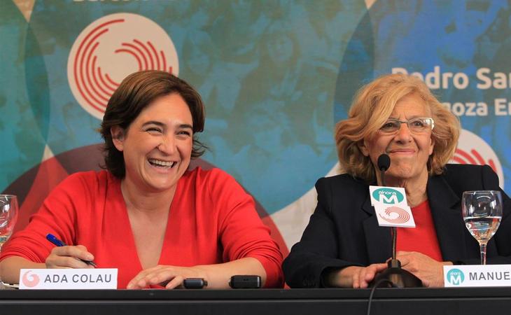 Manuela Carmena ha sido el principal referente del cambio en Madrid