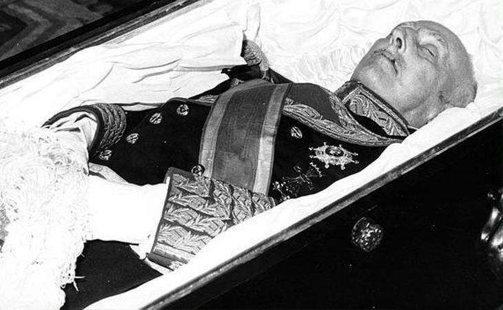 El 20 de noviembre, aniversario de la muerte de Franco