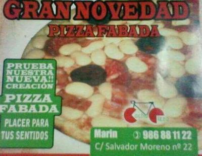 Si no tenías suficiente con la pizza hawaiana, llega la pizza de fabada