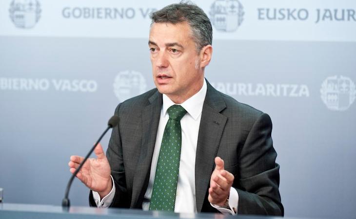 El lehendakari Íñigo Urkullu no tuvo conocimiento de las supuestas amenazas del Gobierno a los independentistas