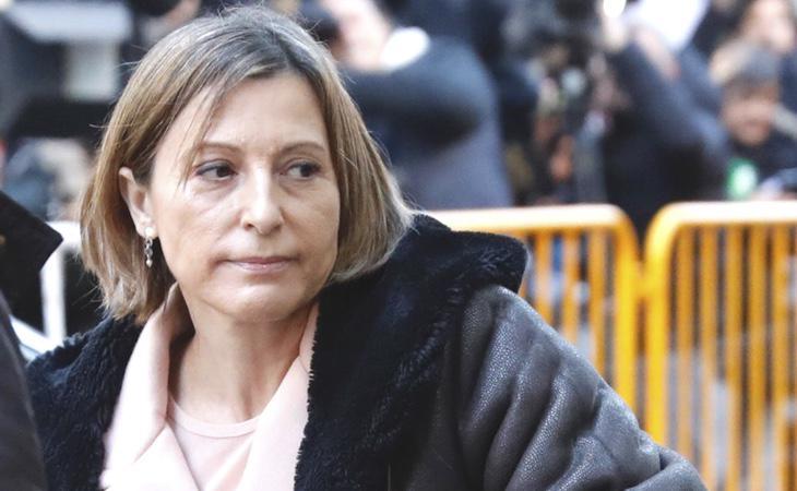 El Tribunal Supremo dictó libertad bajo fianza para Carme Forcadell y la mayoría de los miembros de la mesa del Parlament