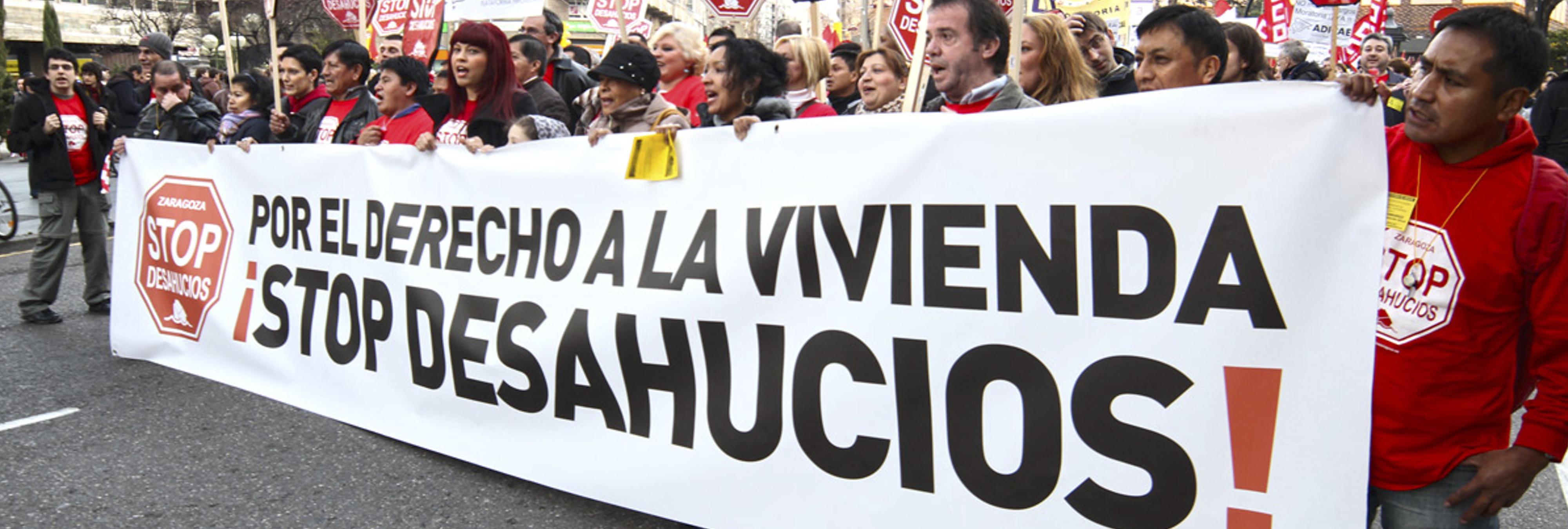 Rajoy ignora el dictamen de la ONU que pide cesar los desahucios de familias vulnerables