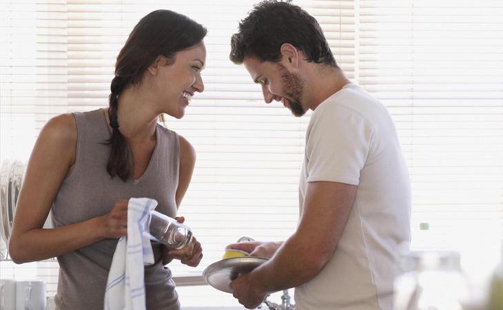 Aunque creemos en el reparto de las tareas del hogar, aún no se ha cumplido