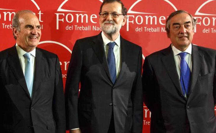 Mariano Rajoy pide a las empresas que se han marchado que vuelvan a Cataluña