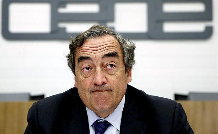 Juan Rosell aboga por comenzar una nueva etapa de diálogo y consensos
