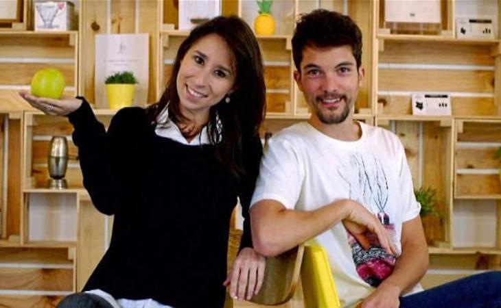 Chema junto a Natalia Pedrajas (Foto de El Mundo