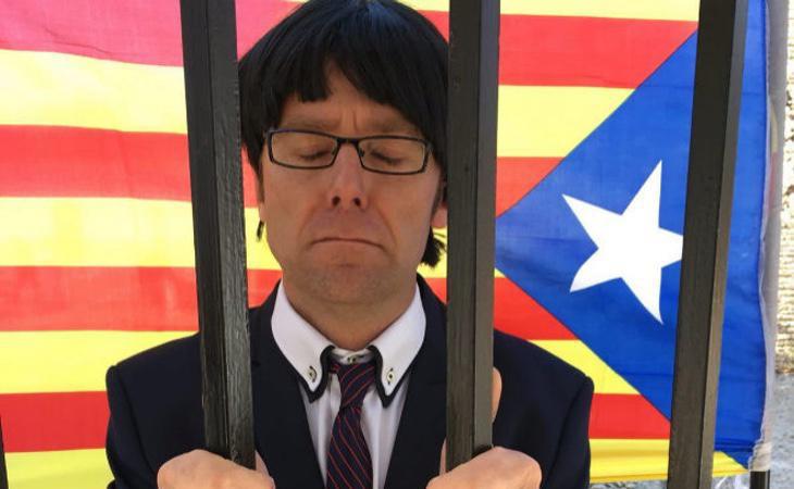 Carles Puigdemont (José María) entre rejas