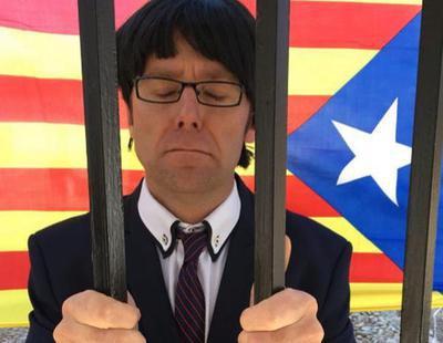 El doble manchego de Carles Puigdemont se entrega a la Policía
