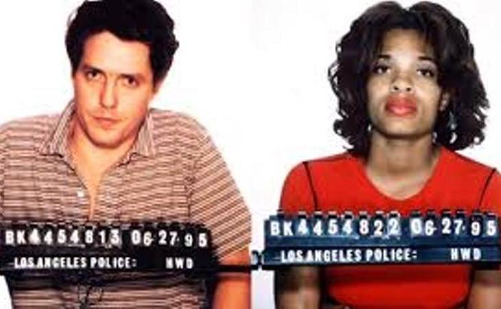 Hugh Grant fue pillado con una prostituta