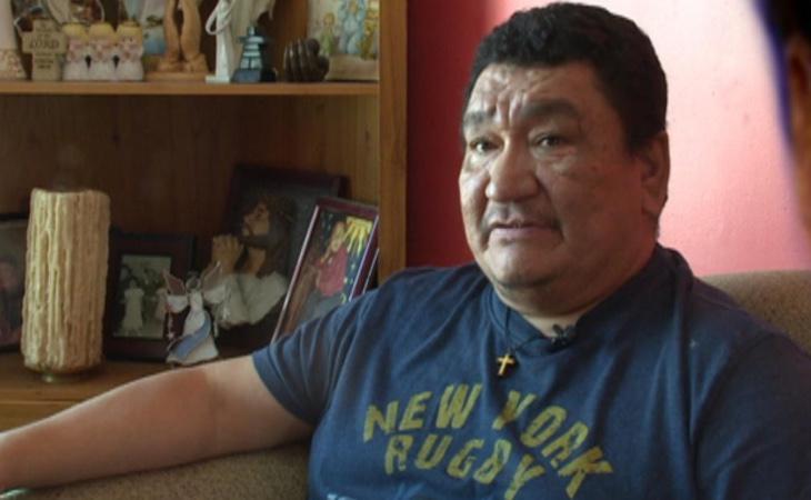 El líder de la comunidad innu, Greg Rich