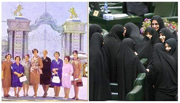 Parlamentarias iraníes antes y después de la revolución