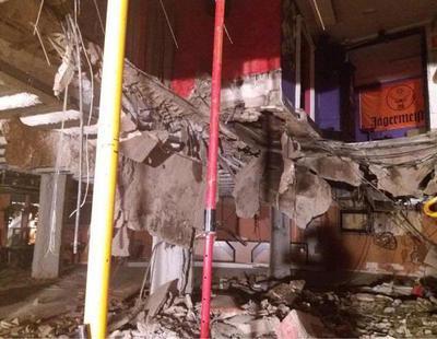 Más de 20 heridos al hundirse el suelo de una discoteca de Tenerife