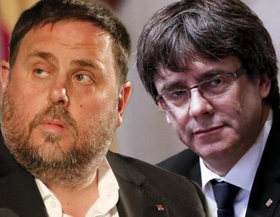 Puigdemont pide a sus exconsellers que se mantengan en prisión mientras él sigue huido