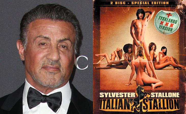 Stallone y la portada de 'Italian Stallion'