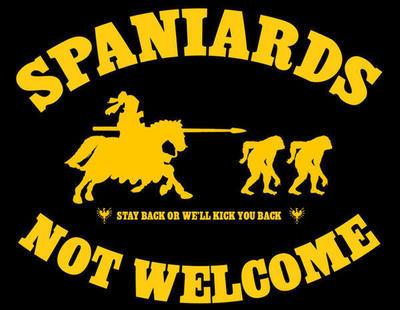 Los españoles son chimpancés y hay que agredirles, según un grupo independentista catalán