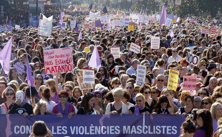 El juicio a La Manada ha tenido una gran respuesta social tanto en las calles como en las redes sociales
