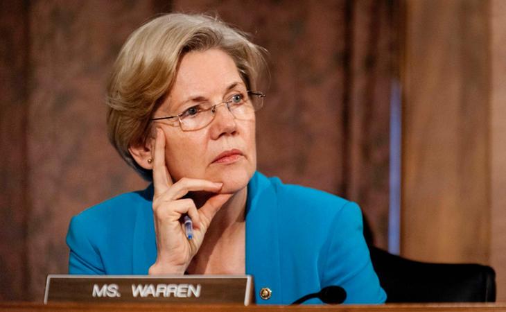 Elizabeth Warren calificó de insulto racial lo dicho por Trump