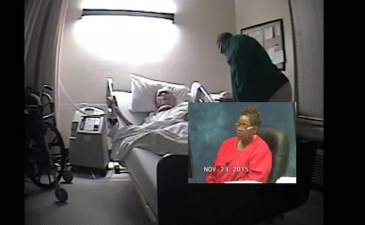 Durante el juicio se visionaron las grabaciones de la cámara oculta ante la incredulidad de las acusadas.