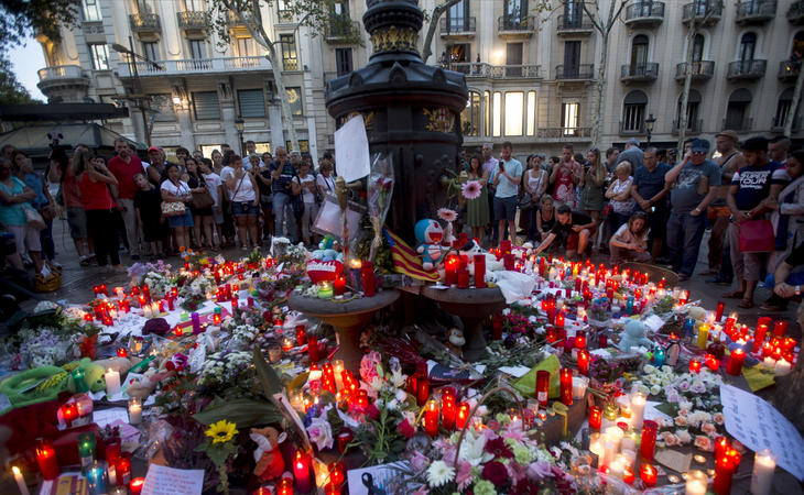 Los atentados de Cataluña dejaron 16 víctimas mortales