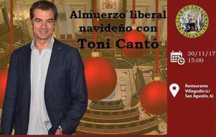 Toni Cantó (Ciudadanos) irá a un almuerzo navideño de una entidad homófoba y extremista